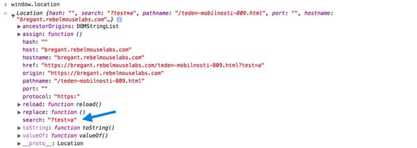URL Params in Code