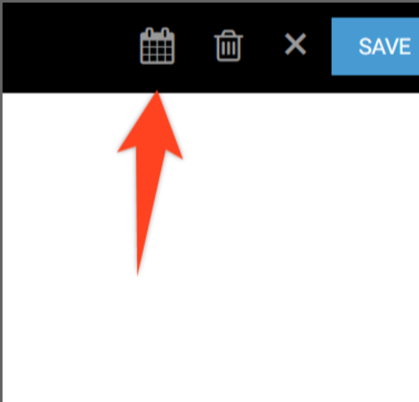 How Do I Schedule a Post for Publish via the Entry Editor?