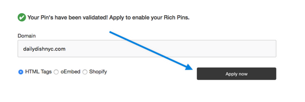 How to Enable Pinterest Rich Pins