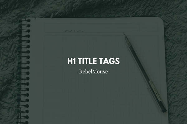 h1 tags for seo