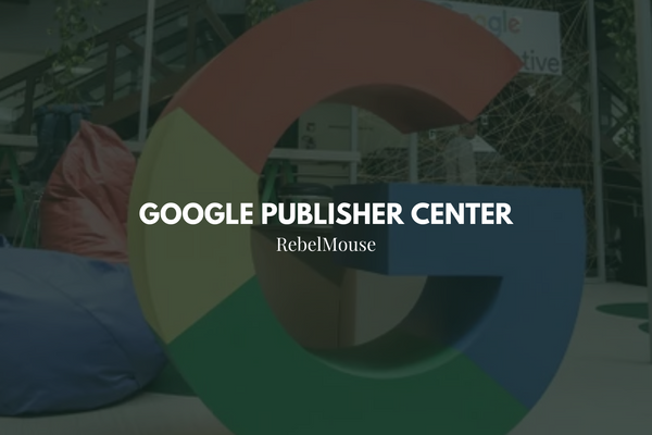 how to set up google publisher center