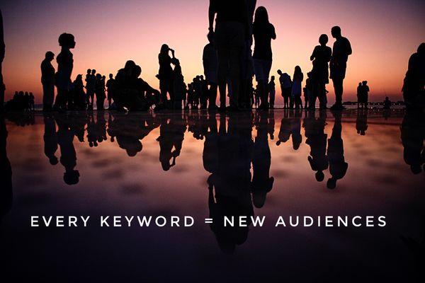 Every Keyword = New Target Audiences