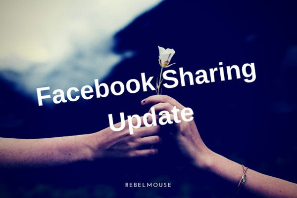 NEW: Important Upgrade to Facebook's Share Feature