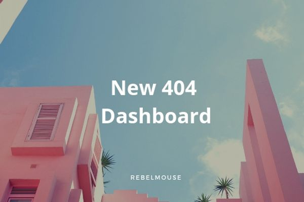 Don't Turn Away Another Reader Again: Introducing the New 404 Report Dashboard