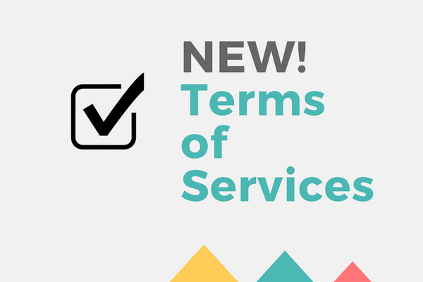 NEW! Terms of Service Checkbox
