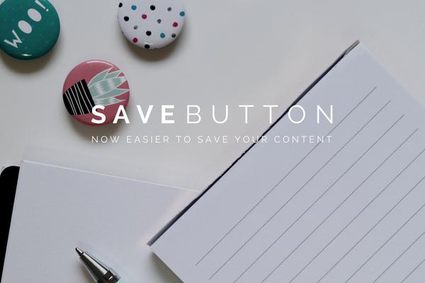 Save Button Update