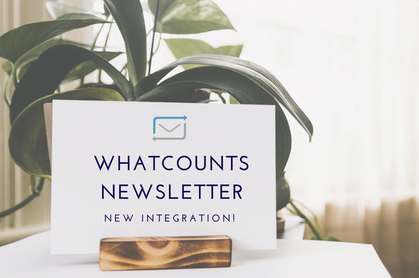 NEW! Newsletter Integration with WhatCounts