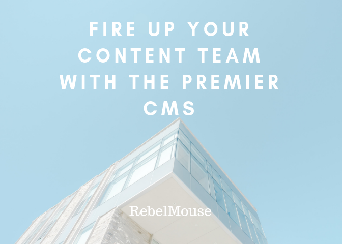 Don't Fire Your Content Team — Arm Them With the Tools They Need