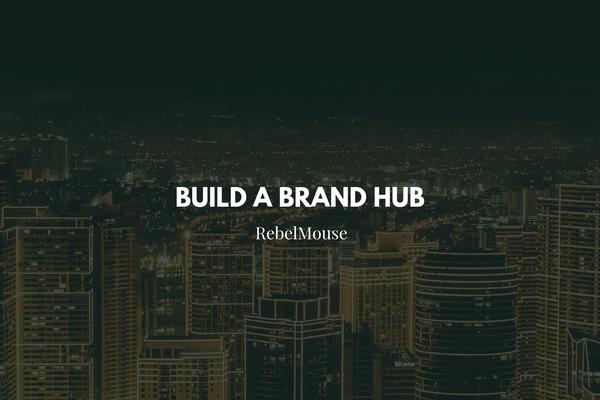 Key Elements of a Brand Hub