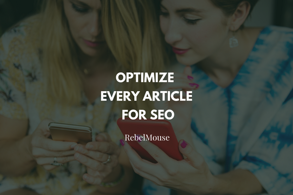 Make Sure Your Article Is SEO-Friendly