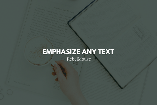 NEW: Styled Quotes Available in Entry Editor