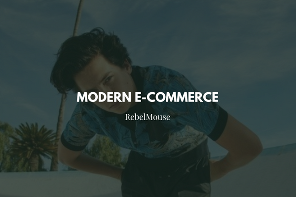 Modern E-Commerce: Blur the Line Between Content and Design
