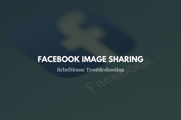 How to Fix: Facebook Image Sharing Error