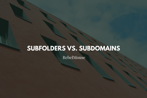 The Difference Between Subdomains and Subfolders