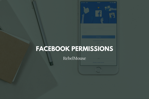 Update RebelMouse Application Permissions on Facebook