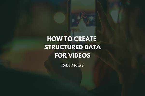 Create Google Structured Data for Videos