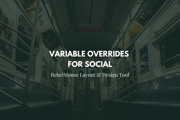 How to use Variable Overrides to Override OG Tags