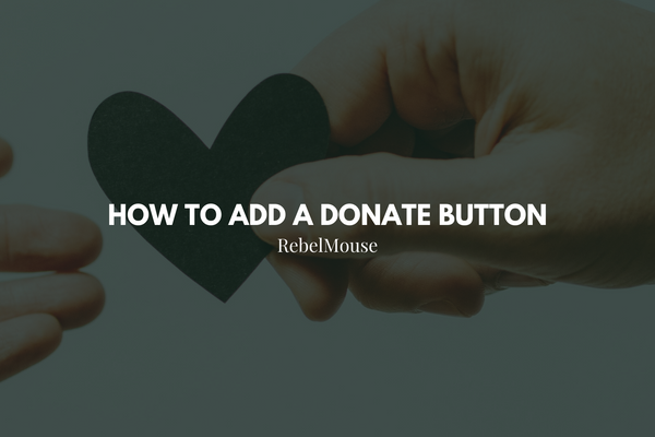 How to Add a Donate Button