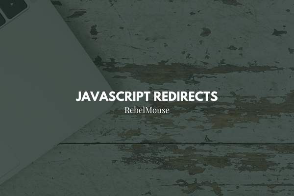 How to Handle JavaScript Redirects