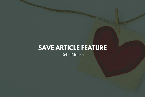 How to Use the Save Article Feature