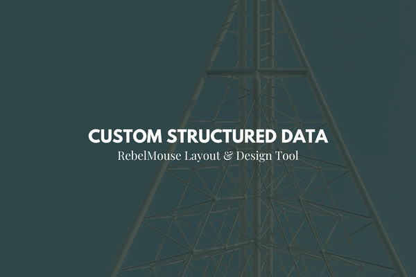 Custom Structured Data for Post Elements