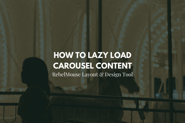 How to Set up Carousel Content for Lazy Loading