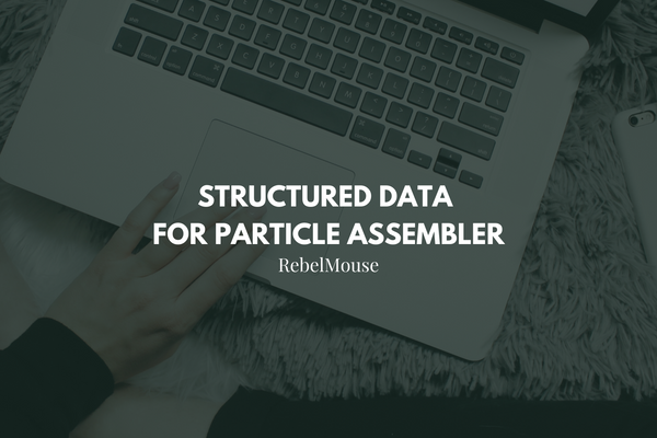 Structured Data: Mark up Assembler for Google's Carousel Feature