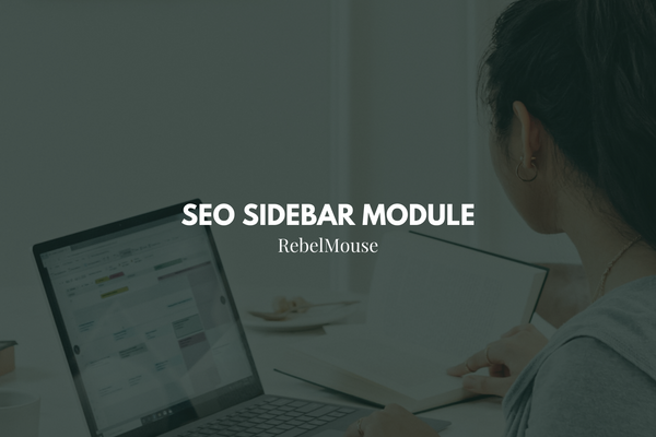 Strategic Search Tips: The SEO Sidebar Module