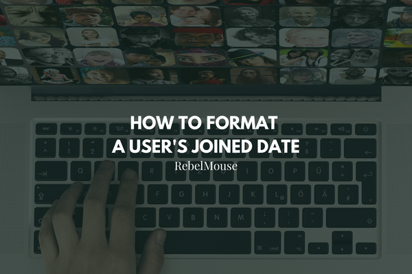 How to Format a User's Joined Date
