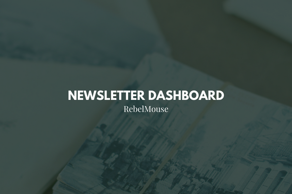Tour the Newsletter Dashboard