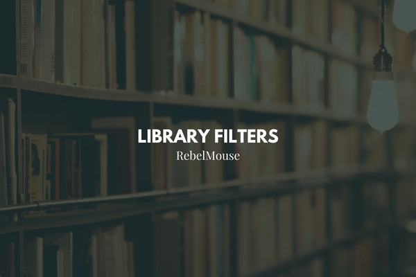 New Filters Available in Library