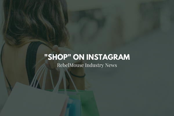 """Instagram Rolls Out New """"Shop"""" Section"""