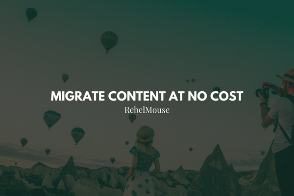 Have a Complex or Homegrown CMS? Migrate Easily at No Extra Cost.