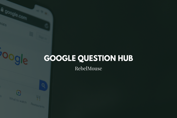 Google Opens up Its Question Hub to U.S. Publishers