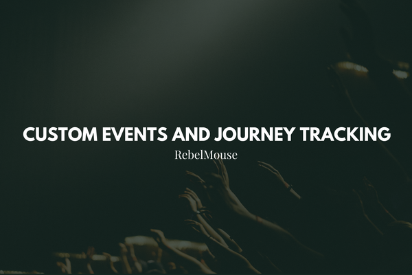 Custom Events and Journey Tracking